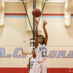 AC Flora Girls Varsity Basketball falls to Lower Richland 35-61