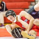 A C Flora High School Boys Varsity Wrestling beat Richland Northeast High School 42-33