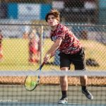 AC Flora High School Boys Varsity Tennis beat Myrtle Beach High School 6-0