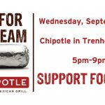 Tonight is Football Night at Chipotle