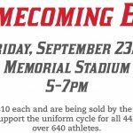 Homecoming BBQ To Support Uniform Cycle For All Teams