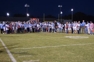 Football: Varsity vs. Dreher (Senior Night Pics) – 10/28/16