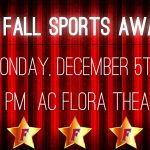 Fall Sports Awards Night Monday