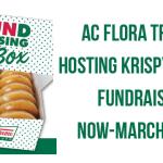 AC Flora Track Hosting Krispy Kreme Fundraiser
