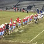 AC Flora High School Junior Varsity Football beat Dreher High School 27-8
