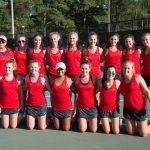 Girls Varsity Tennis - Senior Day