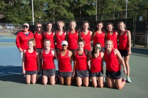Girls Varsity Tennis – Senior Day