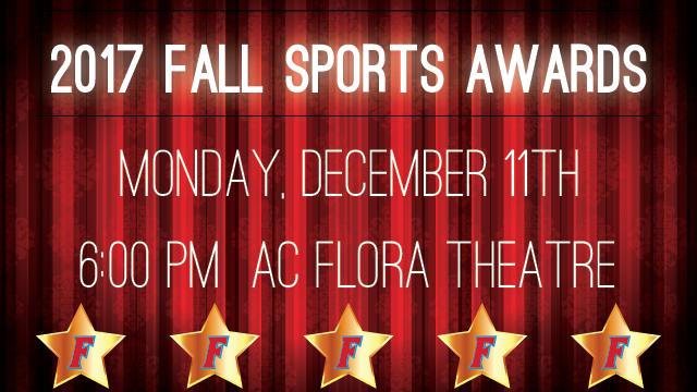 Fall Sports Awards Night – Monday, December 11th
