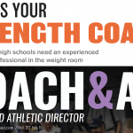 Where's Your Strength Coach? – Article by Coach Kurtz in Coach and A.D. Magazine