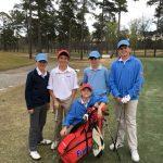 Boys Junior Varsity Golf beats Camden 192 – 187