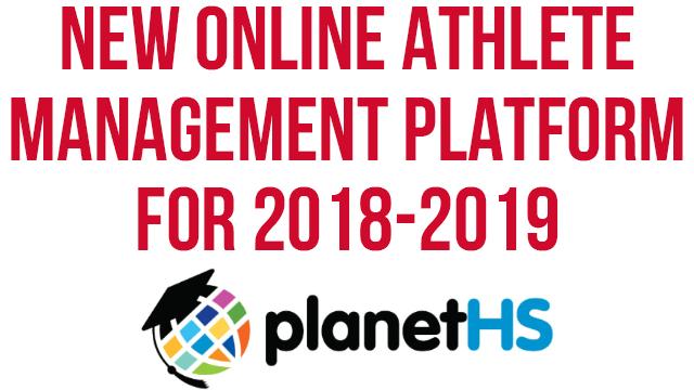 New Online Athlete Management Platform for 2018-19