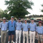 Boys Varsity Golf finishes 2nd place at Lexington/ Gilbert