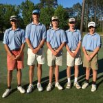 Boys Varsity Golf finishes 1st place at Regional Tournament
