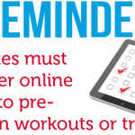 Spring Sports Reminder – Athletes Must Register Online