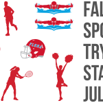 Fall Sports Tryouts Start July 27th