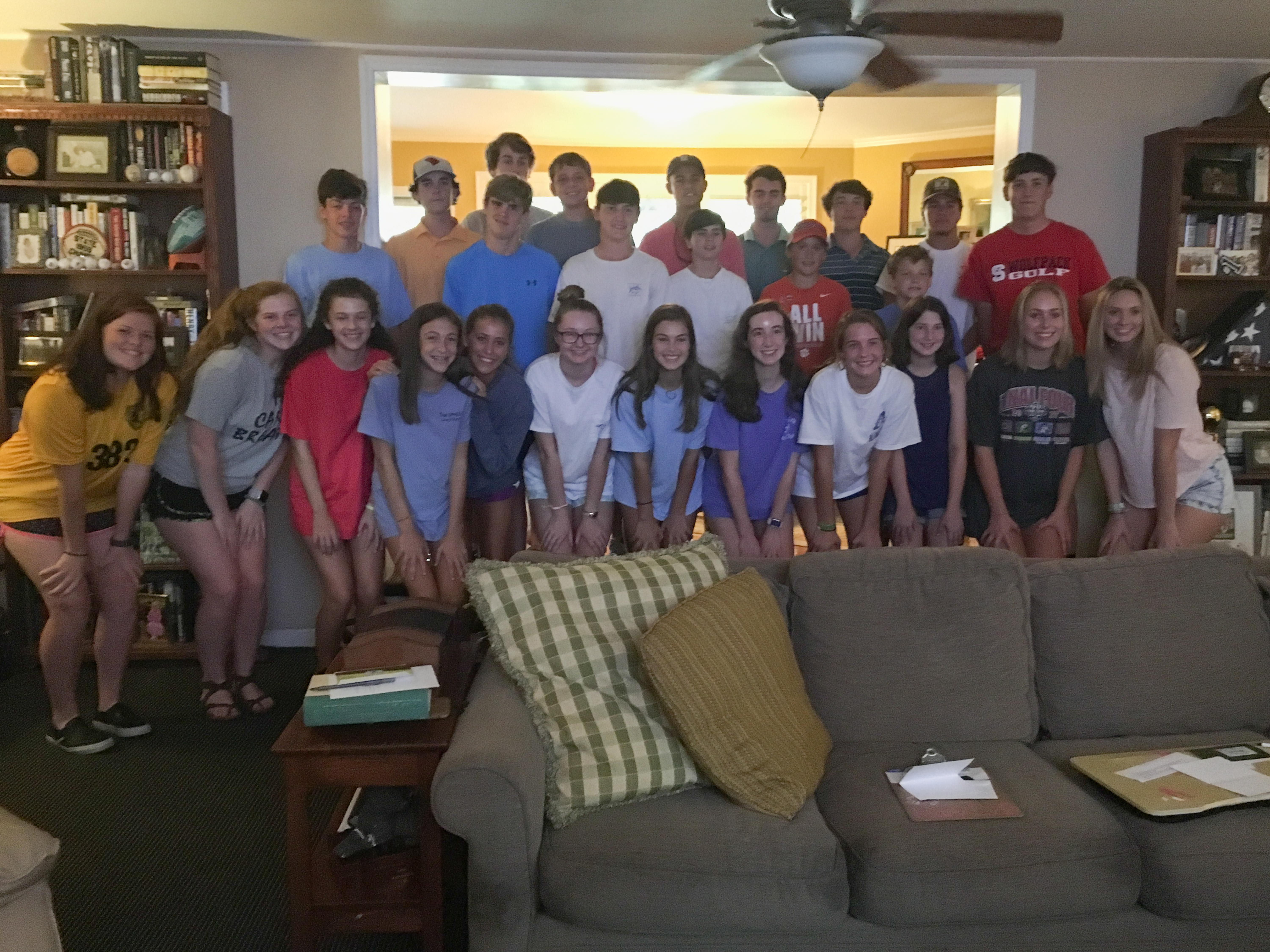 Flora Golfers Thank Golf Gathering Sponsors With Personal Thank You Notes