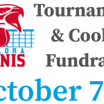 Falcon Tennis Tournament and Cookout Fundraiser – October 7th