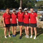 Falcon Girls Golf Tie for First in Tuesday Match at Camden Country Club