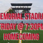 Friday Night – Homecoming at Memorial Stadium