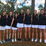 Girls Golf Finishes First in Mid Week Meet; Off to Regional Play!