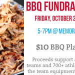 Friday's BBQ Plate Fundraiser – Money Due Monday