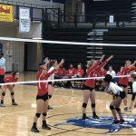 Girls Varsity Volleyball beats Dreher 3 – 0