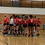 Girls Varsity Volleyball falls to Aiken 3 – 0
