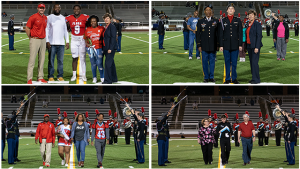 Senior Night – Football, JROTC, Cheer and Band – 11/01/18