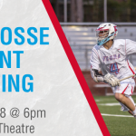 Boys Lacrosse Parent Meeting – This Thursday