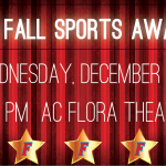 Fall Sports Awards Night – Wednesday, December 12th