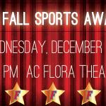 Fall Sports Awards Night – Wednesday, December 12th
