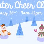 Winter Cheer Clinic – Saturday, January 26th