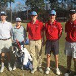 Boys Varsity Golf Team Starts Season With Convincing Victory