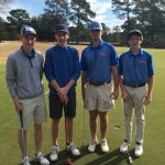 Boys Varsity Golf Finishes Fourth out of 29 at Parks Hutto Bengal Invitational
