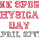 Free Sports Physical Day Is April 27th