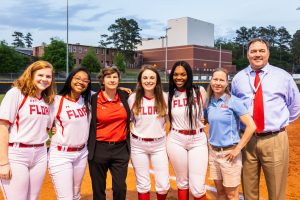 Photos: Varsity Softball vs LR – Senior Night – 4/11/19