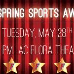 Spring Sports Awards Night – Tuesday, May 28th