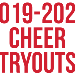 2019-20 Cheer Tryout Info