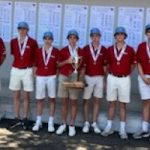 Falcon Boys Golf Takes 2nd Place at State on Hilton Head, But Just Barely Miss it All