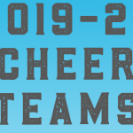 2019-2020 Cheer Teams Announced