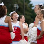 Cheerleading team aiming for top-three finish