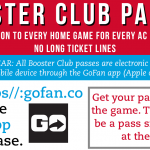 Booster Club Passes and Falcon Gear – Get Yours Now