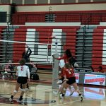 Falcons Varsity Volleyball beats Westwood 3 – 0