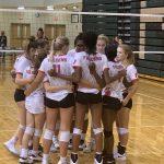 Varsity Volleyball beats Westwood 2 – 0