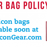 Clear Bag Policy – Falcon Bags Coming Soon