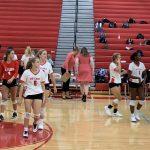 Varsity Volleyball falls to Blythewood 0-3
