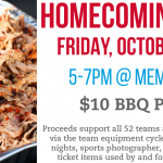 It's Homecoming Week – BBQ Plates This Friday
