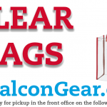 Clear Bags Available at www.GetFalconGear.com