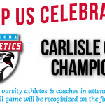 Athletics to Recognize Carlisle Cup Champion Athletes and Coaches at Friday's Game