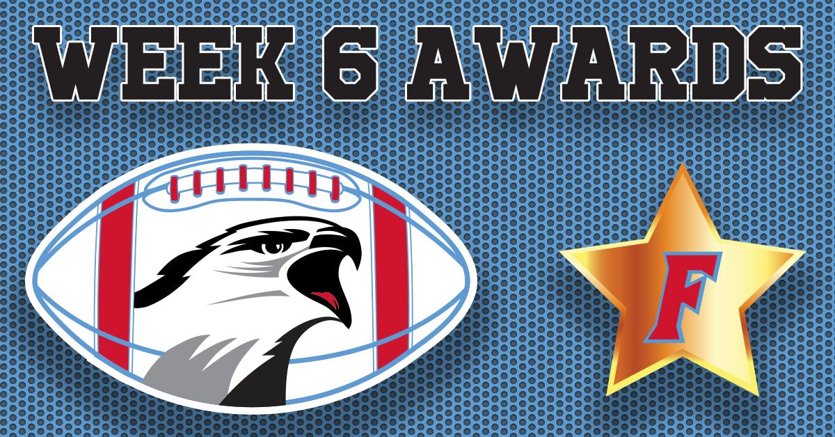 Football Awards – Week 6